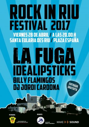 cartel RockInRiu 2017