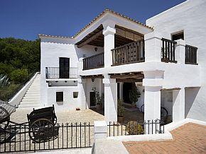 24/Juni / 2009 Ibiza payesa House Can Ros, hoofdkwartier van het Volkenkundig Museum, in Santa Eulalia © JOAN COSTA